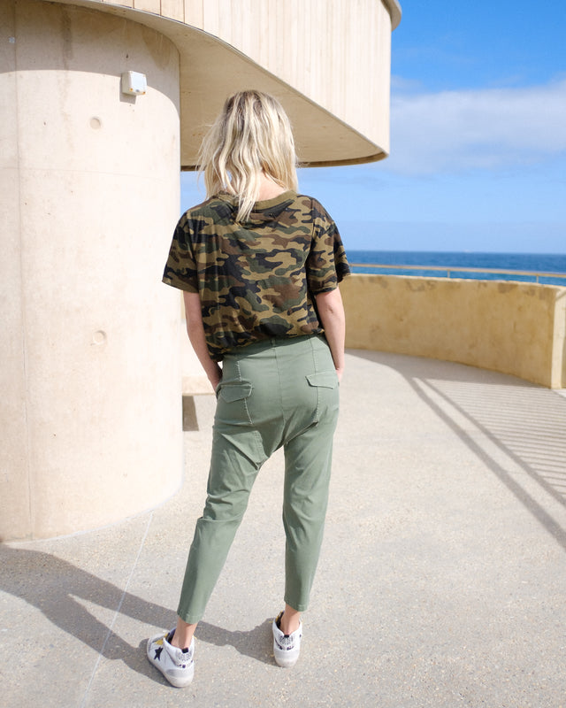 Paris Pant in Camo