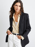 Nili Lotan Daniel Jacket in Black