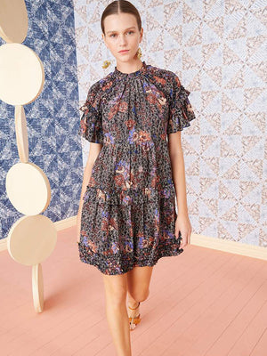 Ulla Johnson Delia Dress in Jet