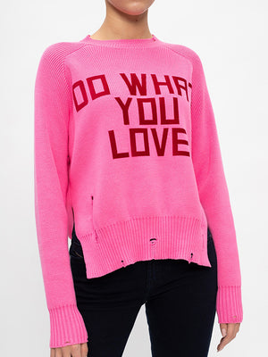 Golden Goose Delilah Do What You Love Sweater