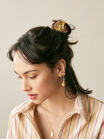 Desert Camp Hair Tie - Gold