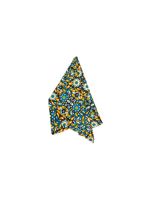 La DoubleJ Homewares Dishtowels in Confetti Blue