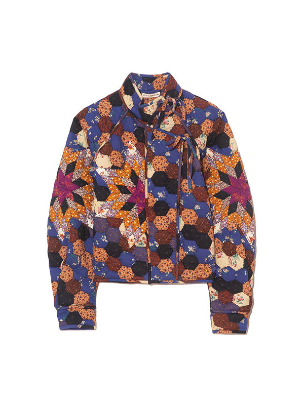 Ulla Johnson Elettra Jacket in Midnight Calico