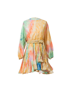 Ella Dress in Tie Dye
