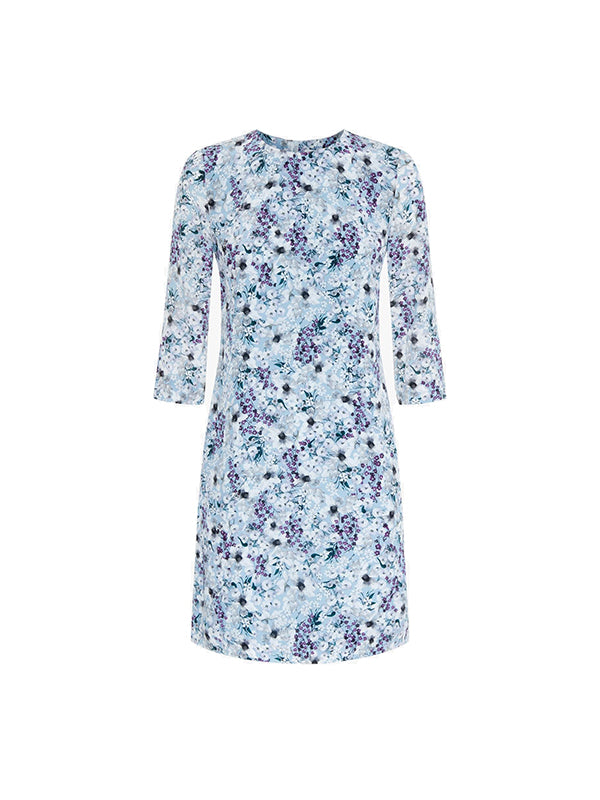 Erdem Emma Dress Meadow Teal