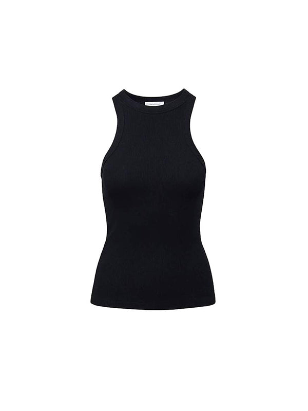 Anine Bing Eva Tank in Black