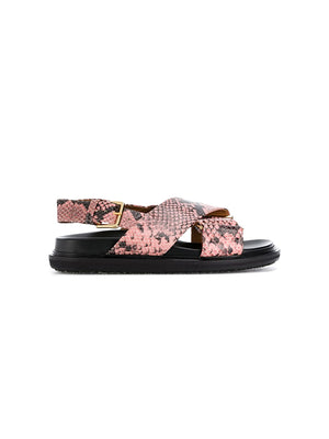 Fussbett Sandal in Quartz