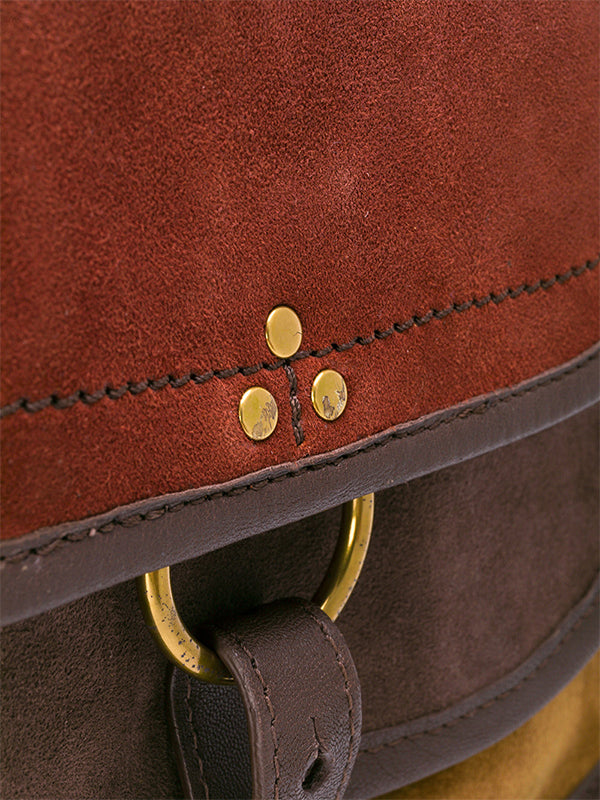 FELIX SHOULDER BAG IN MARRON
