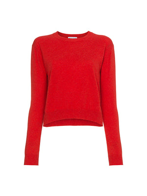 FRANCOISE CASHMERE SWEATER IN RED