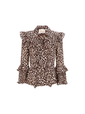 Fancy Top in Leopard