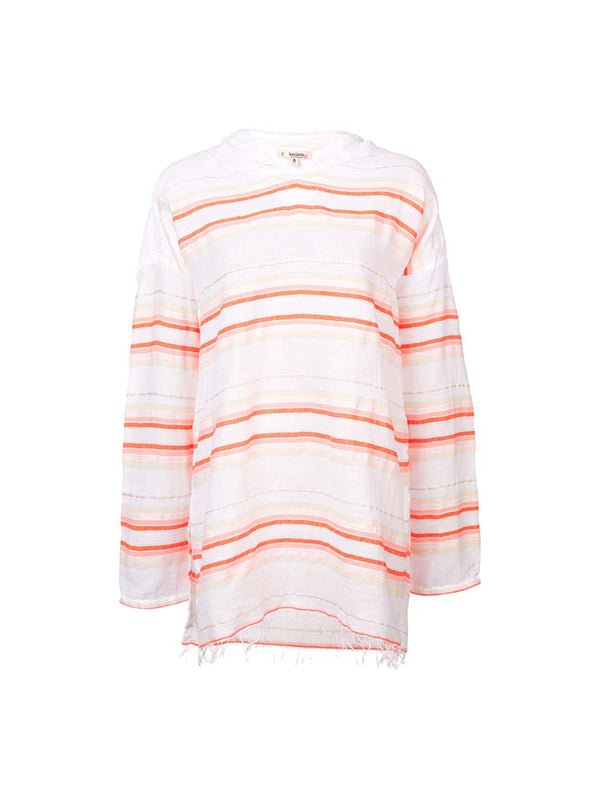 Fiesta Hooded Cover up in Orange