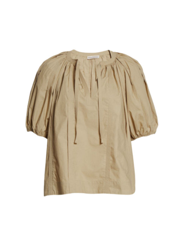Ulla Johnson Finn Top In Kahki