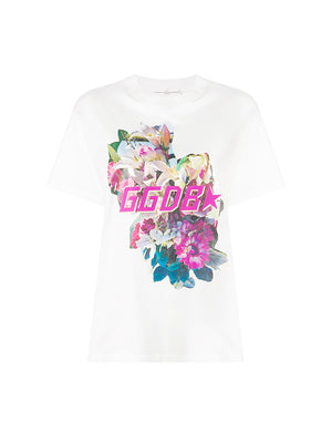 FLOWER GOLDEN T-SHIRT