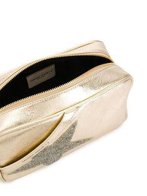 Golden Goose Star Bag In Gold Laminated G36WA881.B6