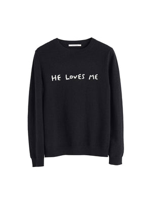 He Loves Me Sweater