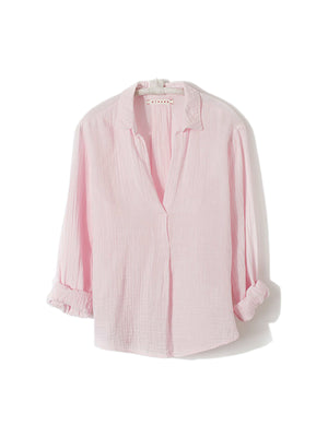 Halsten Shirt in Pink Wink