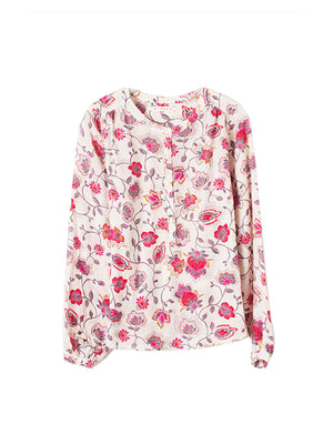 Hansen Top in Tea Rose