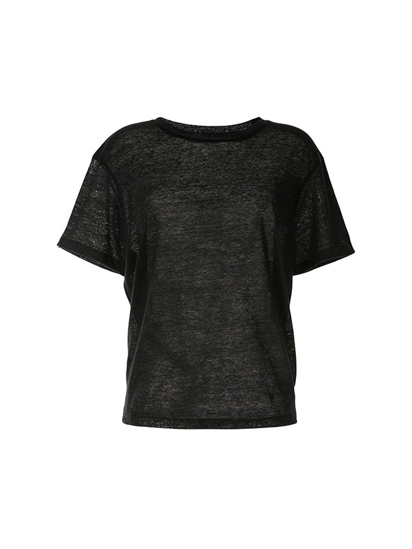 Anine Bing Harper Tee in Black