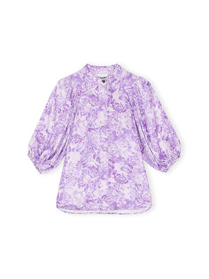 Top in Violet Tulip