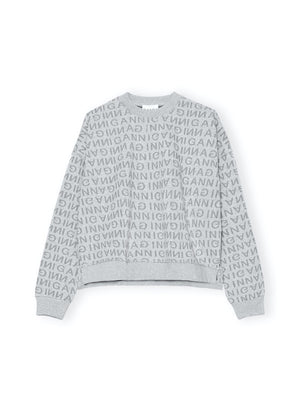 Drop Shoulder Sweatshirt in Paloma Melange