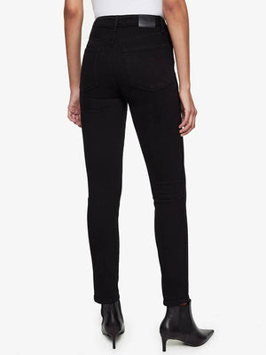 Anine Bing Jagger Jean in Over Dye Black