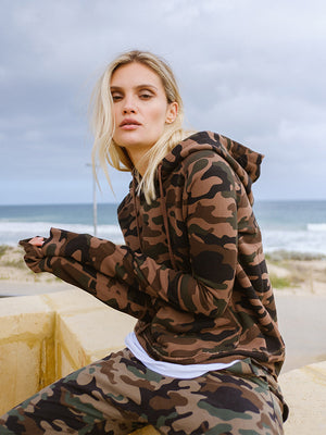 Janie Hooie in Camouflage