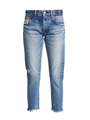 MV Keller Tapered Jean in Blu