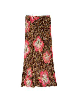 Kelly Skirt in Hawaiian Giraffe