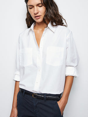 Kelsey Shirt in White