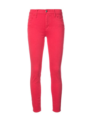 LE HIGH SKINNY IN VINTAGE RED