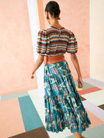 Ulla Johnson Layla Skirt in River