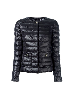 Light Padded Jacket in Black