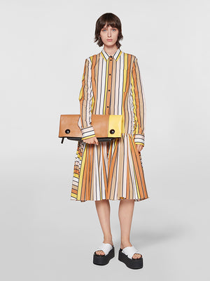 Marni Long Sleeve Dress in Maize