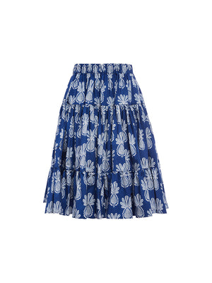 Love Skirt in Pineapple Blue
