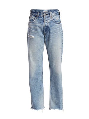 MV Lomita Wide Straight Jean in Blue