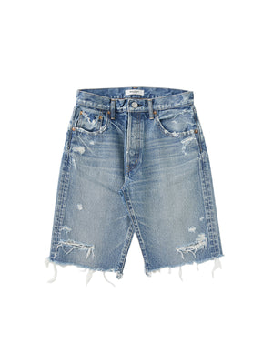 MV Trosper Bermuda Shorts in Light Blue