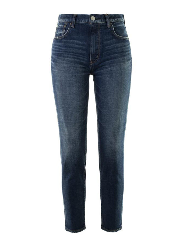 Moussy Vintage MV Cameron Skinny Hi in Dark Blue