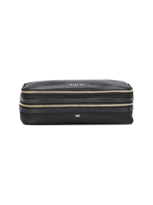 MAKEUP BAG IN BLACK