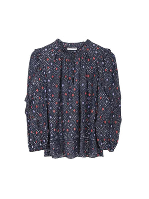 Manet Blouse In Navy