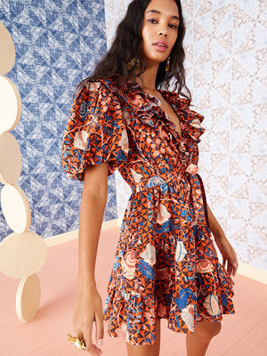 Ulla Johnson Maude Dress in Hibiscus