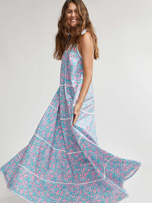 Binny May Gibbs Tiered Maxi Dress in Wattle