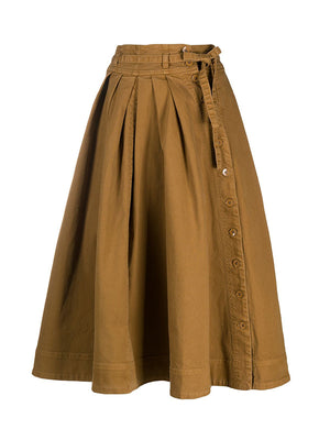Micah Skirt in Teak