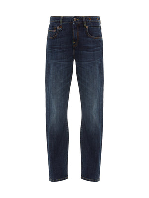 Mid Rise Boy Skinny in Norten Indigo
