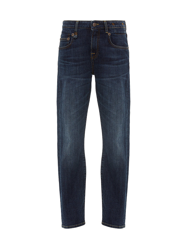R13 Mid Rise Boy Skinny in Norten Indigo
