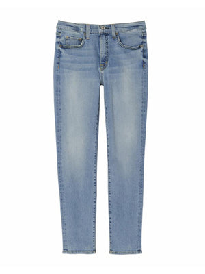 Mid Rise Jean in Light Blue