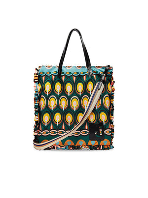 Midi Shopper Bag in Rio Verde