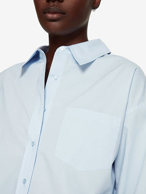 Anine Bing Mika Shirt in Blue