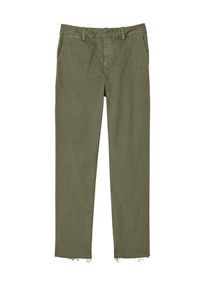 Montauk Pant in Military Green