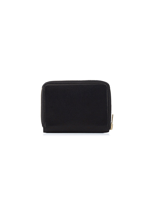 MR MINI WALLET IN BLACK