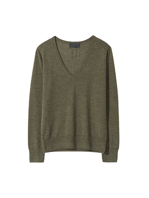 Muriel Sweater in Army Green
